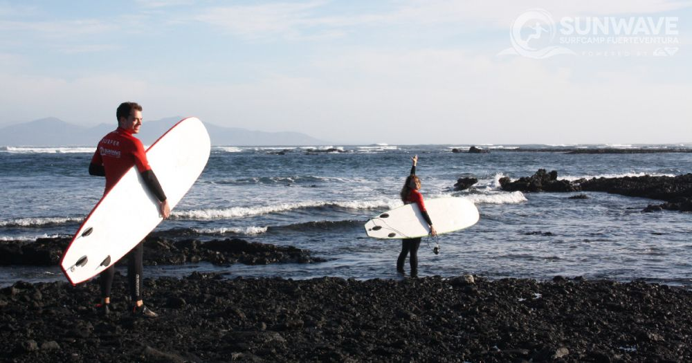 Perfect waves, empty line-ups, summer-like temperatures: Winter in Fuerteventura